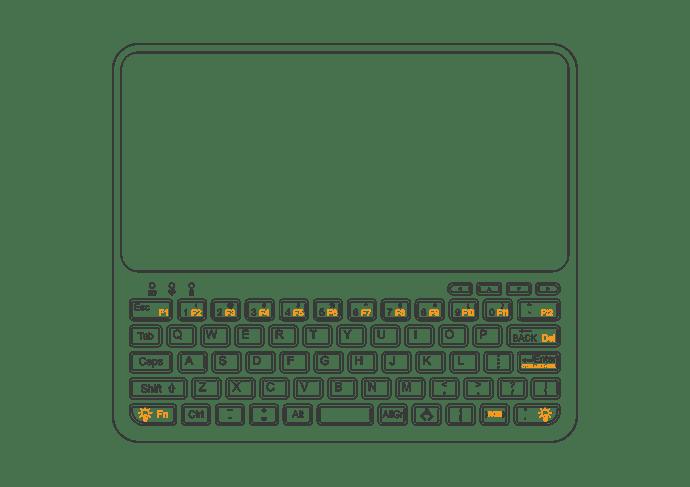 pocket p c  keyboard layout - pocket p c