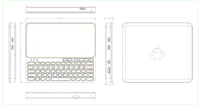 Pocket P.C. Mechanical Drawing